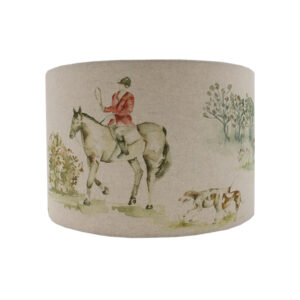 Voyage Horse and Hound Drum Lampshade