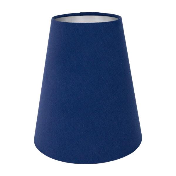 Bright Blue Cotton Tall Empire Lampshade