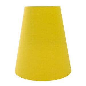 Mustard Yellow Cotton Tall Empire Lampshade