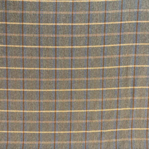 Margo Umber Tartan Fabric