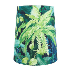 Botanical Tall French Drum Lampshade
