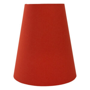 Burnt Orange Cotton Tall Empire Lampshade