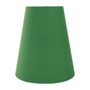 Dark Green Cotton Tall Empire Lampshade