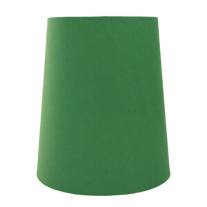 Dark Green Cotton Tall French Drum Lampshade