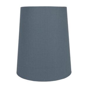 Dark Grey Cotton Tall French Drum Lampshade