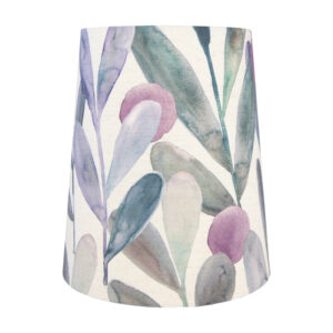 Voyage Enso Violet Tall French Drum Lampshade