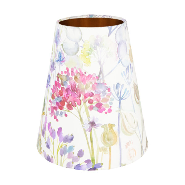 Voyage Hedgerow Pink Tall Empire Lampshade