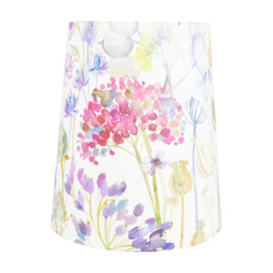 Voyage Hedgerow Pink Tall French Drum Lampshade