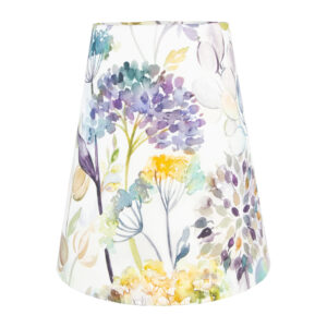 Voyage Hedgerow Blue Tall Empire Lampshade