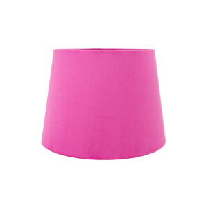 Hollyhock Velvet French Drum Lampshade