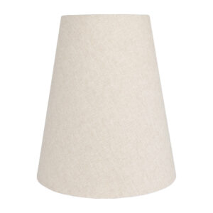 Light Beige Cotton Tall Empire Lampshade