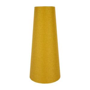 Mustard Yellow Wool Tall Tapered Lampshade