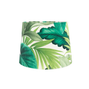 Palm Velvet French Drum Lampshade