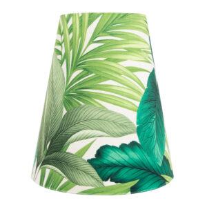 Palm Velvet Tall Empire Lampshade