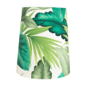 Palm Velvet Tall French Drum Lampshade