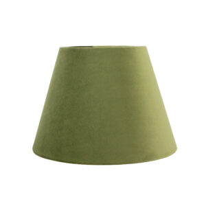 Sage Velvet Empire Lampshade