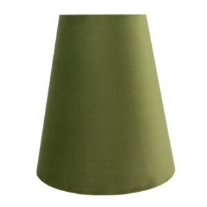 Sage Velvet Tall Empire Lampshade