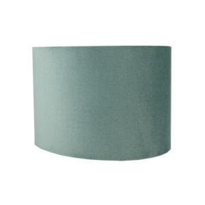 Seafoam Velvet Oval Lampshade