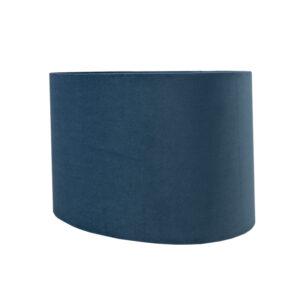 Wedgewood Velvet Oval Lampshade