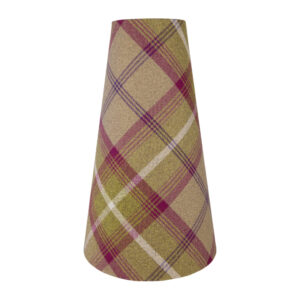 Balmoral Heather Tall Tapered Lampshade