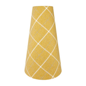 Winsford Ochre Tall Tapered Lampshade