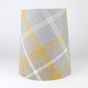 Balmoral Amber Tall French Drum Lampshade