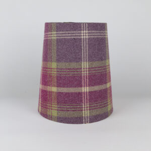 Balmoral Amethyst Tall French Drum Lampshade