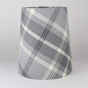 Balmoral Dove Grey Tall French Drum Lampshade