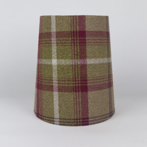 Balmoral Heather Tall French Drum Lampshade