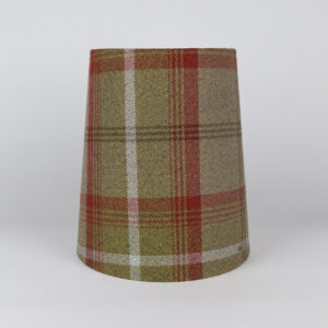 Balmoral Rust Tall French Drum Lampshade
