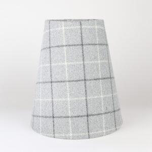 Bamburgh Dove Grey Tall Empire Lampshade