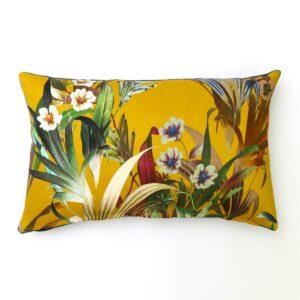 Josie Ochre Rectangular Cushion