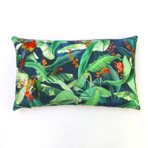 Jungle Parrot Rectangular Cushion