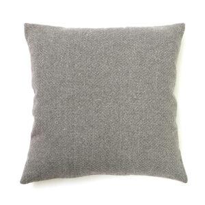 Light Grey Herringbone Square Cushion