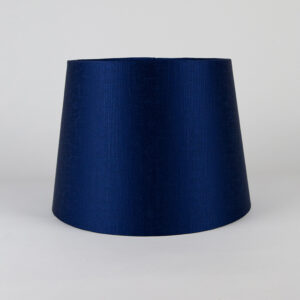 Midnight Blue Satin French Drum Lampshade