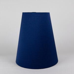 Midnight Blue Satin Tall Empire Lampshade
